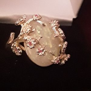 Opal ring size 9